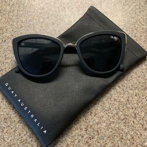 Quay My Girl sunglasses and soft case
